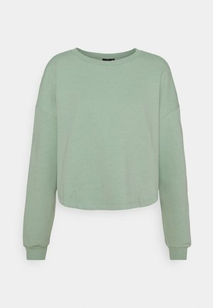 ONYFAVE LIFE ONECK CROPPED - Sweatshirt - jadeite