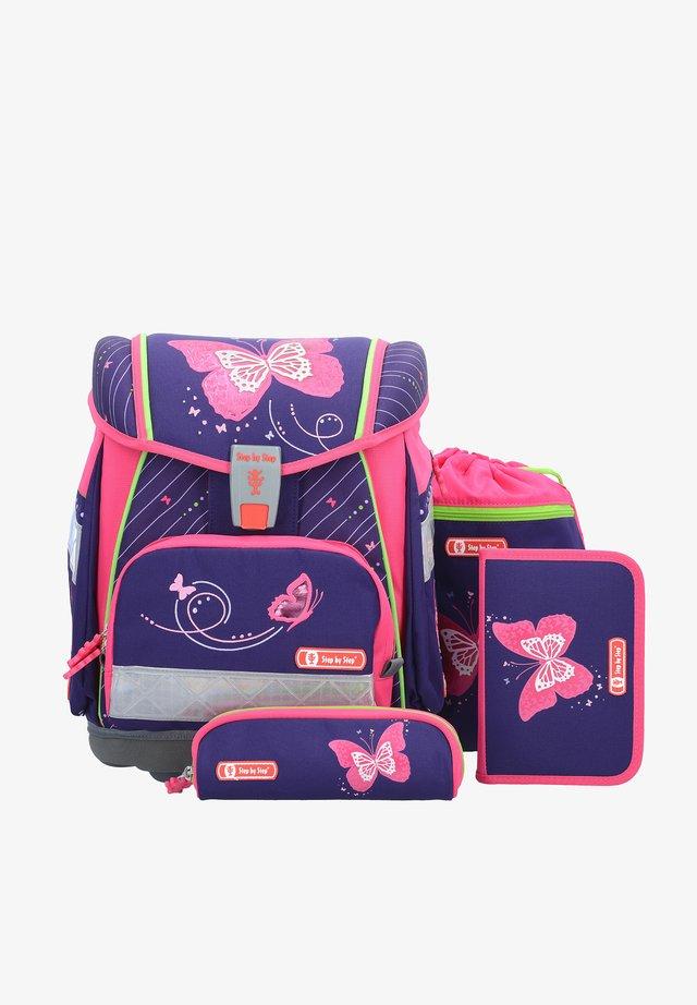 School set - shiny butterfly