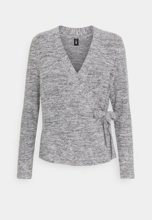 SOFA LOVE MARL LONGSLEEVE WRAP  - Pyjama top - grey