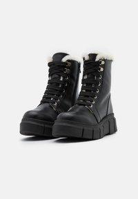 Mis Pepas - MILITARY - Winter boots - black - 2