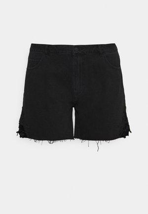 VMNINETEEN - Denim shorts - black