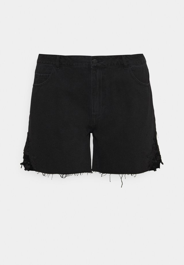 VMNINETEEN - Shorts di jeans - black
