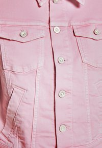 Marc O'Polo - JACKET BUTTON CLOSURE GARMENT DYED - Denim jacket - bleached berry - 6
