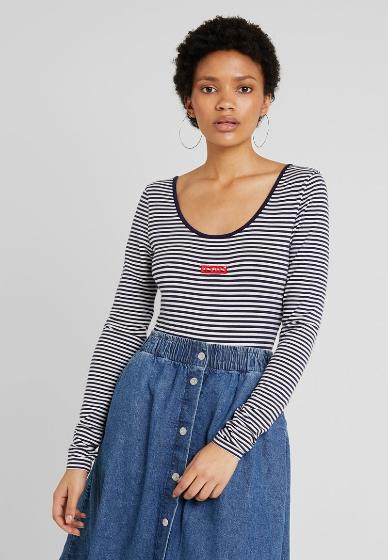 Levi's® - JOSIE  - Long sleeved top - sea captain blue/cloud dancer