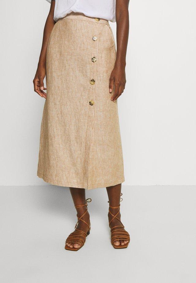 SACHA - Pouzdrová sukně - chipmunk