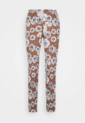Pantaloni - castagna