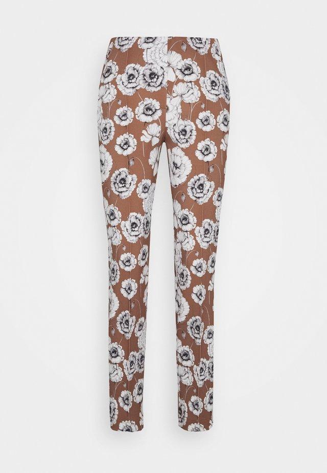 Pantalon classique - castagna