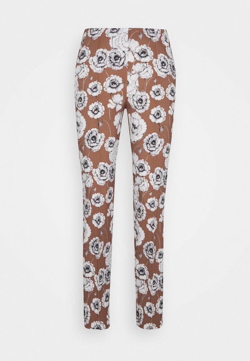 RIANI - Trousers - castagna