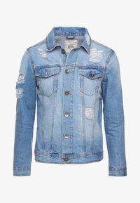JASON JACKET - Denim jacket - light blue