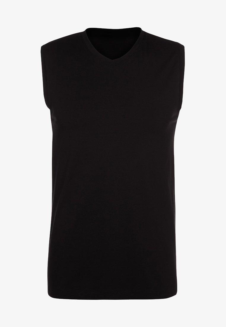 Schiesser - Undershirt - schwarz