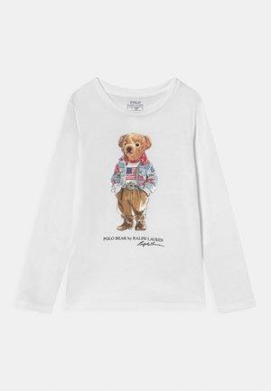 BEAR TEE - Langarmshirt - white