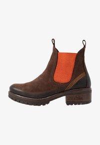 Lazamani - Ankle Boot - brown/orange - 1