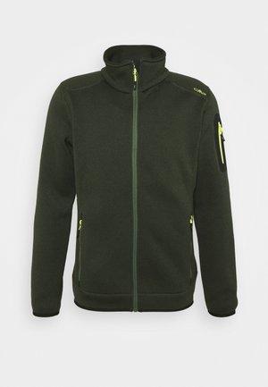 MAN JACKET - Fleecová bunda - evergreen