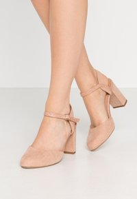 New Look Wide Fit - WIDE FIT SHUTTER 2PART - Zapatos altos - oatmeal - 0