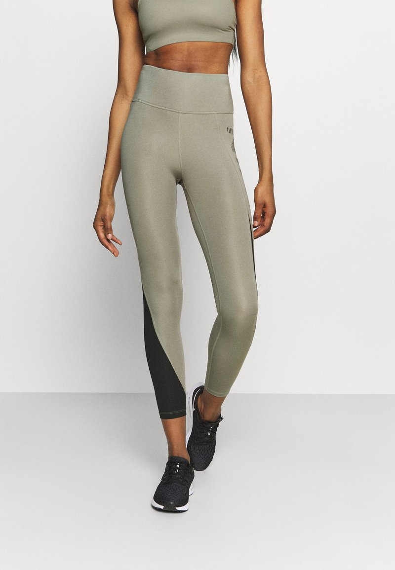 Nike Performance - AIR EPIC FAST - Leggings - light army/black