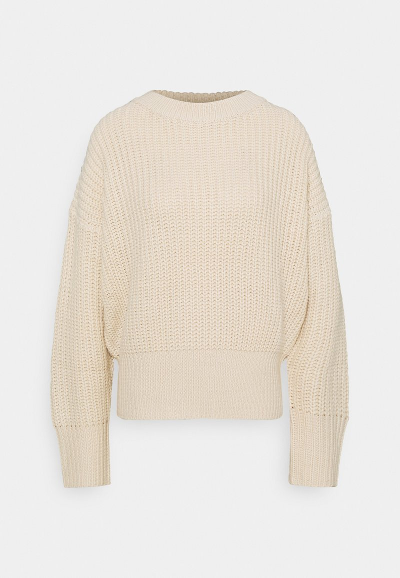 Missguided Petite - BASIC CHUNKY CREW NECK  - Jumper - sand