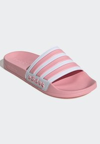 adidas Performance - ADILETTE SHOWER SLIDES - Pool slides - glory pink - 3