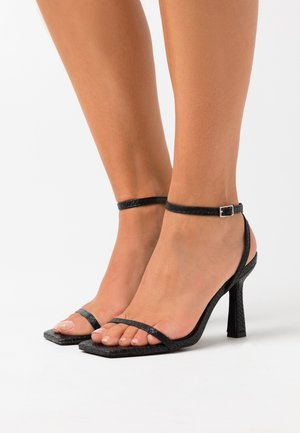 GLENDORA - High Heel Sandalette - black