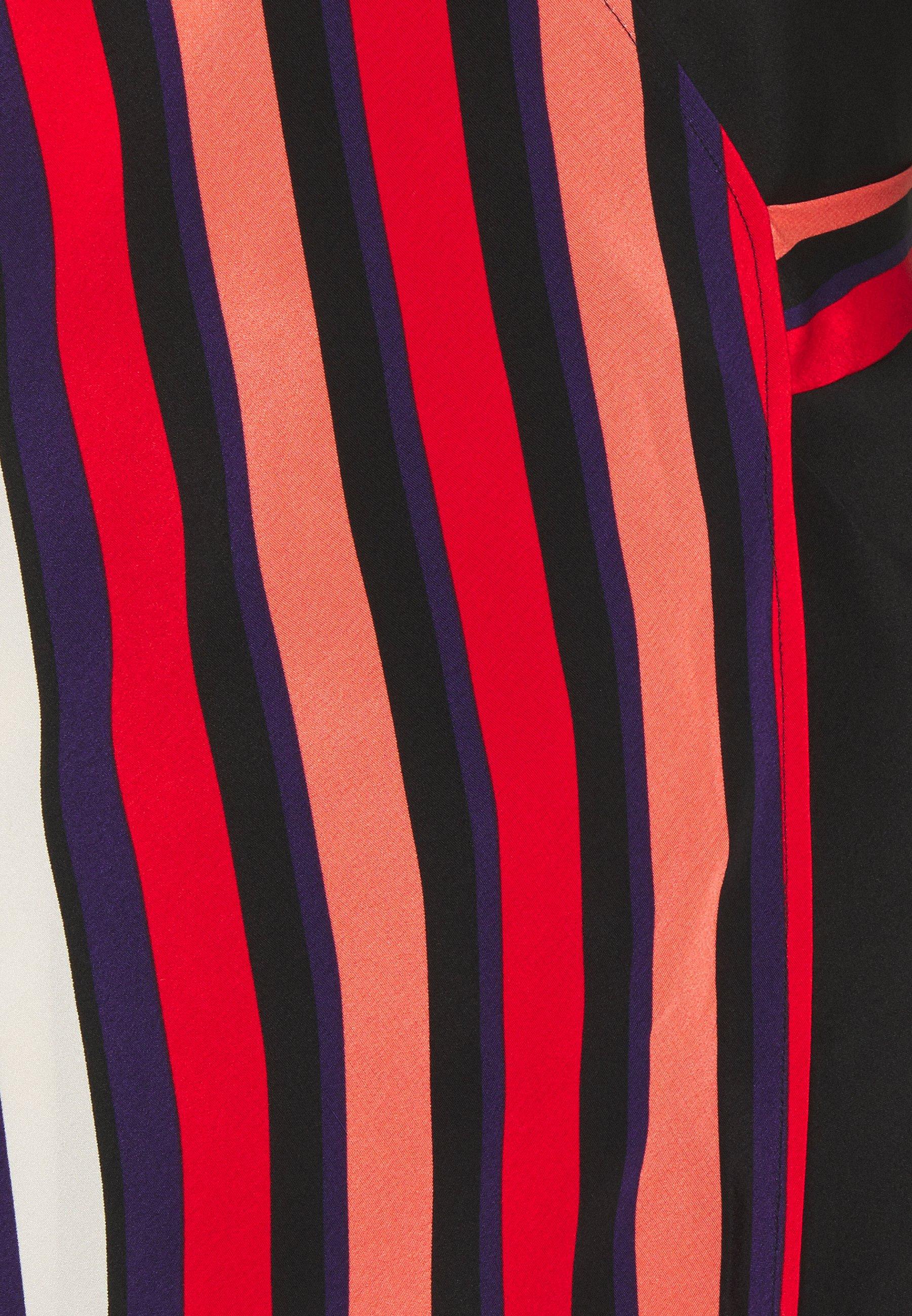 Diane von Furstenberg TILLY MIDI Freizeitkleid pop red/black/rot