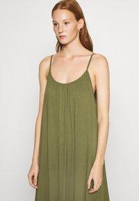 Zign - Jersey dress - olive night - 6