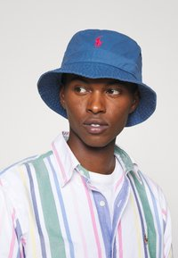 Polo Ralph Lauren - BUCKET HAT UNISEX - Hat - delta blue - 0