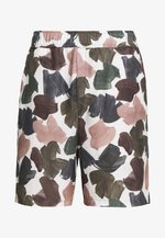 HAMILTON - Shorts - white/multi-coloured