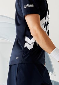 Lacoste Sport - Polo shirt - bleu marine / blanc - 4