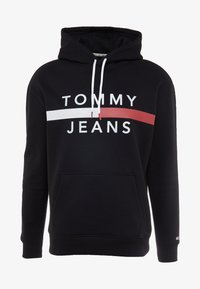 Tommy Jeans - REFLECTIVE FLAG HOODIE - Hoodie - tommy black - 6