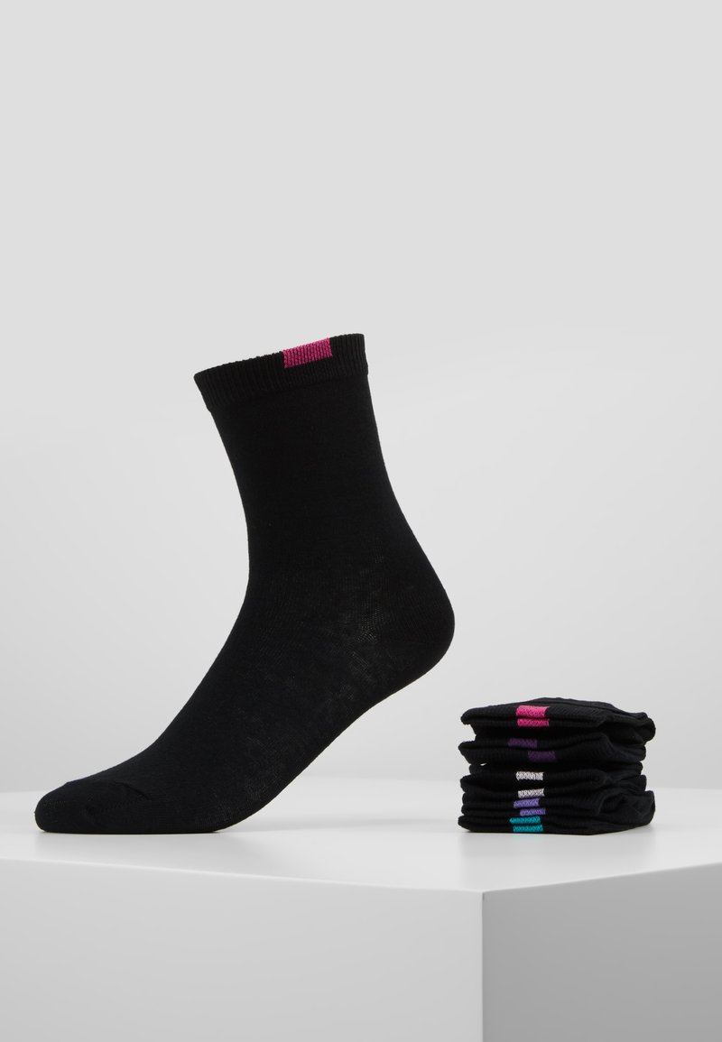 DIM - ECODIM CREW SOCKS 5 PACK - Socks - black