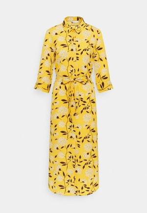 ONLNOVA LUX  SHIRT DRESS - Paitamekko - golden yellow/white