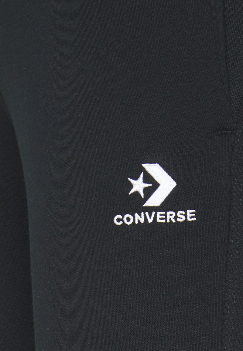 Converse WOMENS STAR CHEVRON FOUNDATION SIGNATURE PANT - Jogginghose - black/schwarz agrYk0