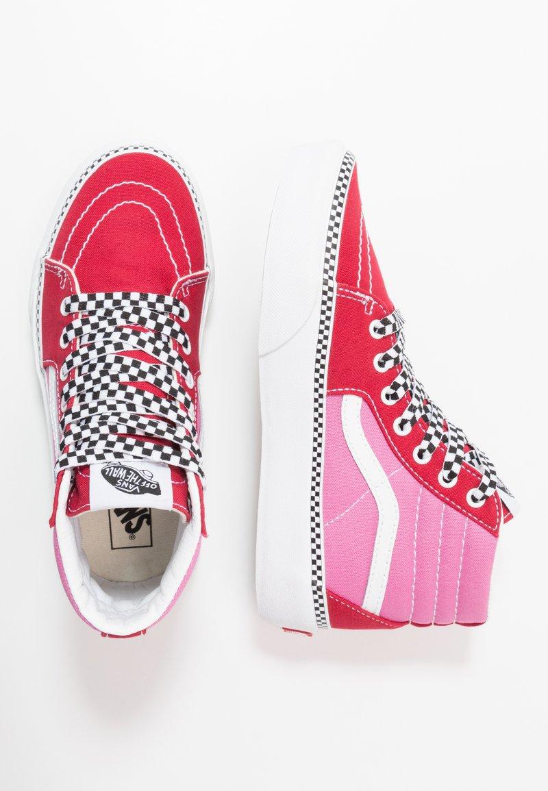 Vans - SK8 PLATFORM 2.0 - Sneaker high - chili pepper/fuchsia pink