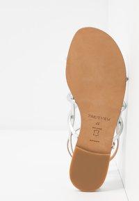 Pura Lopez - Sandals - mirror argento - 6
