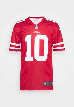NFL SAN FRANCISCO 49ERS JIMMY GAROPPOLO LEGEND TEAM COLOUR  - Fanartikel - gym red