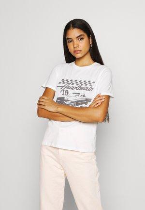IDA TEE - T-shirts med print - off-white