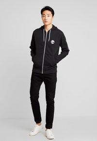 Timberland - ZIP HOODIE - Zip-up hoodie - black - 1