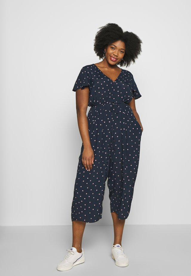 RILEY CAP SLEEVE CURVE - Overall / Jumpsuit /Buksedragter - ditsy spot