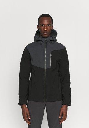 BALLARD - Soft shell jacket - black