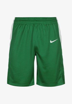 Sports shorts - pine green / white
