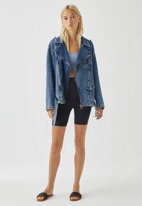 PULL&BEAR - Denim jacket - blue denim - 1