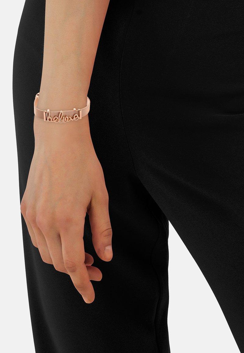 Heideman - ARMBAND BELIEVE - Bracelet - rose goldfarbend