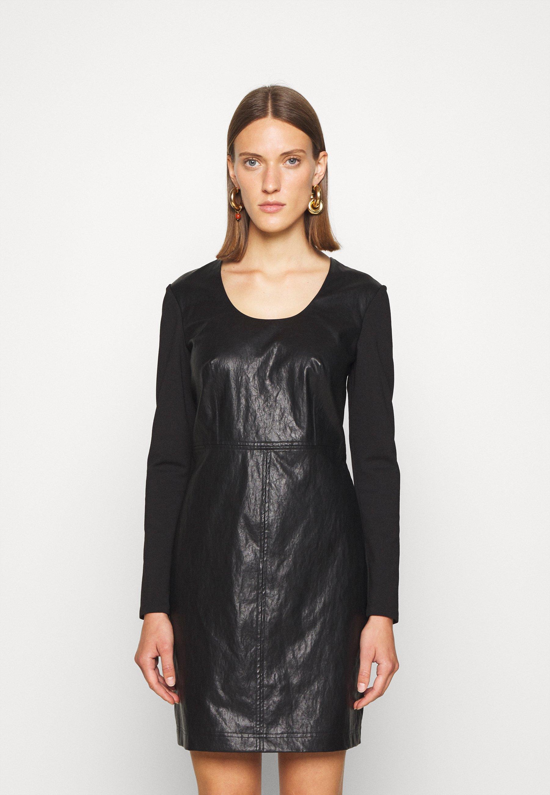 Mujer ABITO TUBINO IN PUNTO MILANO - Vestido informal