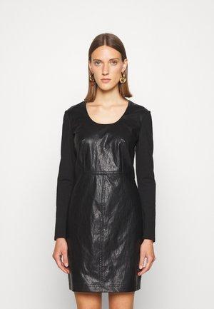 ABITO TUBINO IN PUNTO MILANO - Day dress - nero