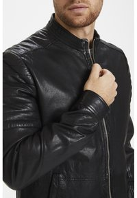 Matinique - Leather jacket - black - 4