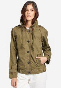 khujo - STACEY - Light jacket - khaki - 0