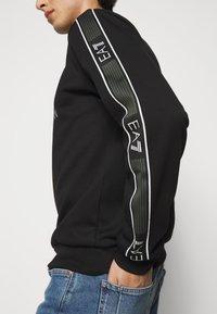 EA7 Emporio Armani - FELPA - Sweatshirt - black - 5