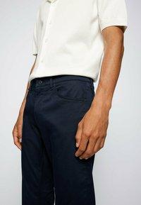 BOSS - MAINE - Slim fit jeans - dark blue - 3