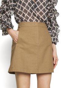 MAX&Co. - CAVILLO - A-line skirt - brown - 4