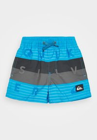 Quiksilver - WORD BLOCK VOLLEY BOY - Swimming shorts - blue - 0