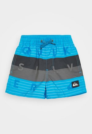 WORD BLOCK VOLLEY BOY - Swimming shorts - blue